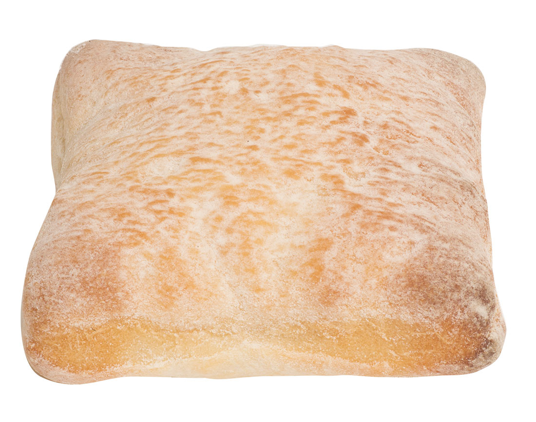 square ciabatta mini roll